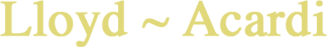Lloyd~Acardi Logo